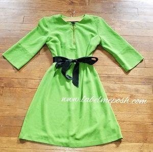 Lime Green Vintage dress
